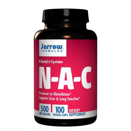 JARROW NAC N-Acetyl L-Cysteine 500mg 100kap