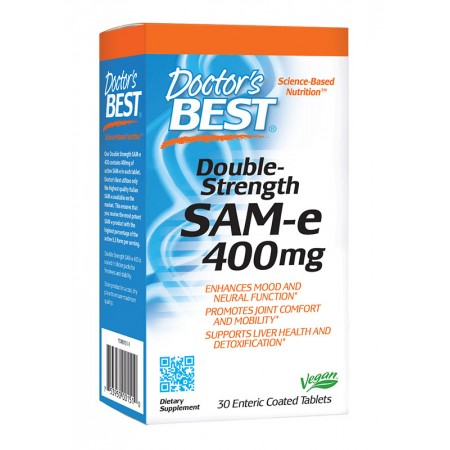 DOCTOR'S BEST SAM-e 400mg 30tab