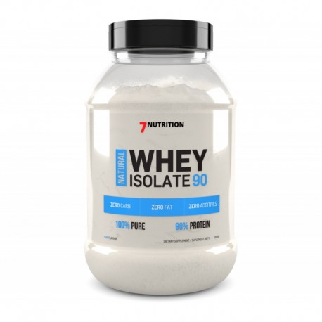 7NUTRITION Natural Whey Protein Isolate 90 500g