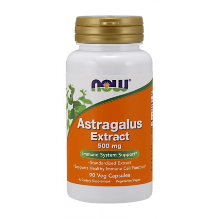 NOW Astragalus Extract 500mg 90kap wege