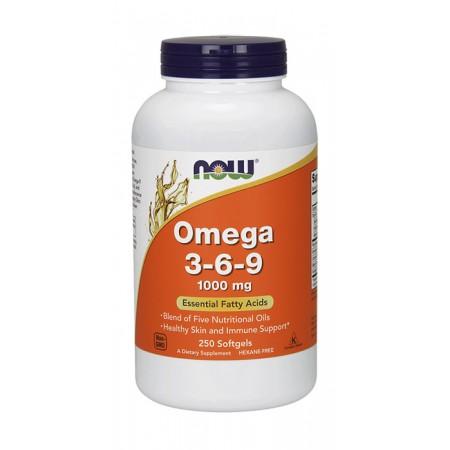 NOW FOODS Omega 3-6-9 250kaps