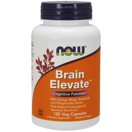 NOW FOODS Brain Elevate 120kap wege