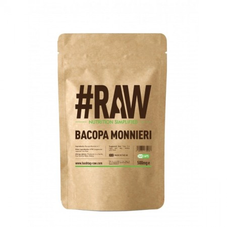 RAW Bacopa Monnieri 120kap 500mg