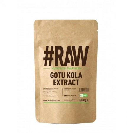 RAW Gotu Kola Extract 120kap 500mg
