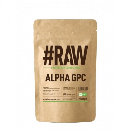 RAW Alpha GPC 120kap wege 250mg