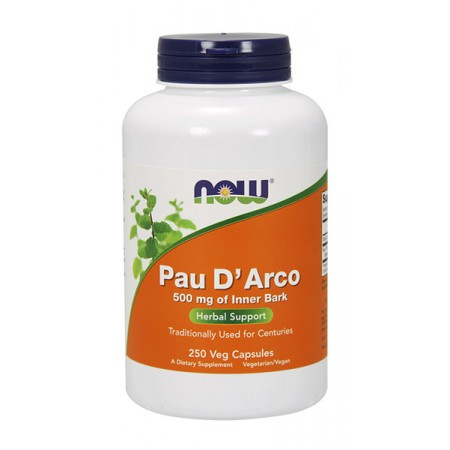 NOW FOODS Pau D'Arco 250kap wege