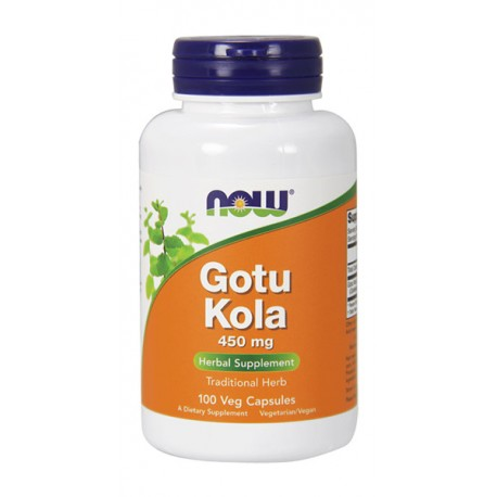 NOW FOODS Gotu Kola 450mg 100kap wege