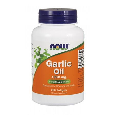 NOW FOODS Garlic Oil 1500mg 250kaps