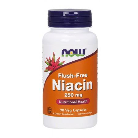 NOW FOODS Flush-Free Niacin 90kap wege