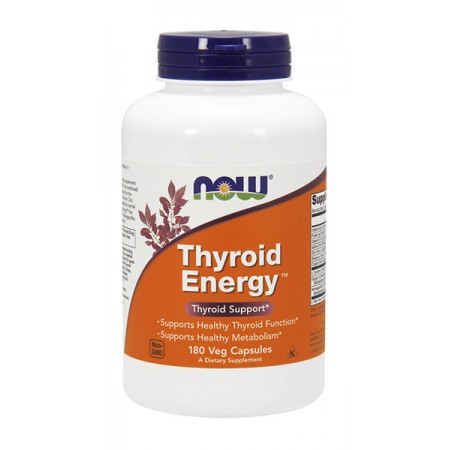 NOW FOODS Thyroid Energy 180kap wege
