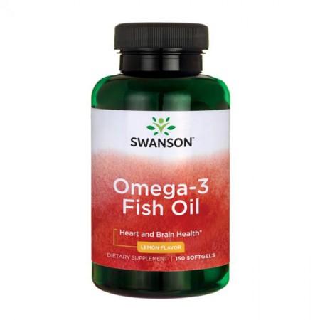 SWANSON Omega-3 Fish Oil 150kap