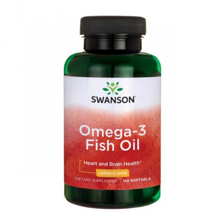 SWANSON Omega-3 Fish Oil 150kap