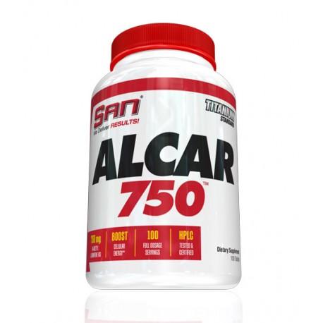 SAN Alcar 750 100tab Acetylo-L-Karnityna