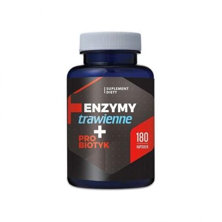 HEPATICA Enzymy Trawienne + Probiotyk 180kap