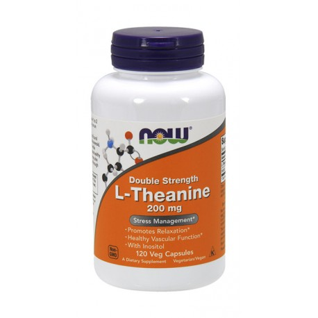NOW FOODS L-Theanine 200mg 120kap wege