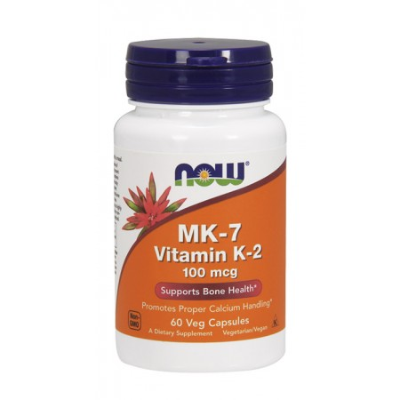 NOW FOODS Vitamin K-2 MK-7 60kap wege