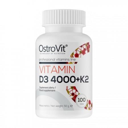 OSTROVIT Vitamin D3 4000+K2 100tab