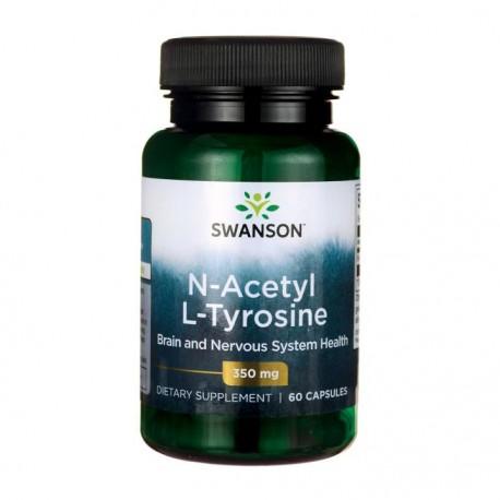 SWANSON  N-Acetyl L-Tyrosine 350mg 60kap