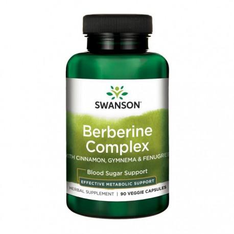 SWANSON Berberine Complex 60wege kap
