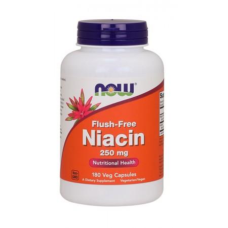 NOW FOODS Flush-Free Niacin 180kap wege