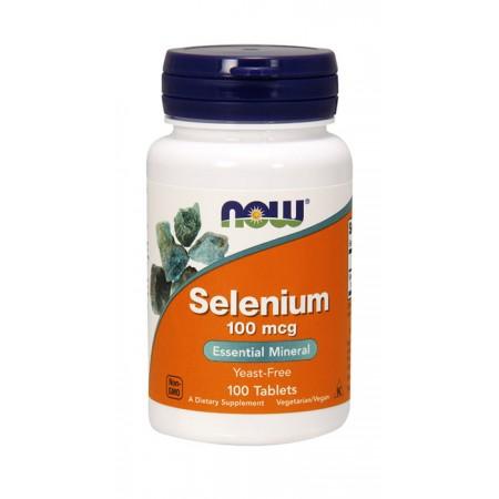 NOW FOODS Selenium 100tab Selen