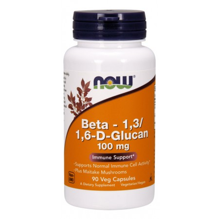 NOW Beta 1,3/1,6-D-Glucan 90kap wege
