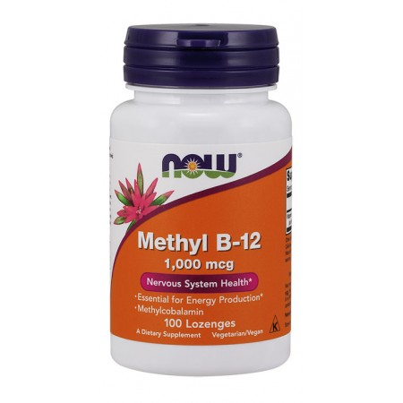 NOW FOODS Methyl B-12 1000mcg 100tab