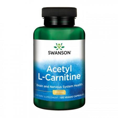 SWANSON Acetyl L-carnitine 100kap wege