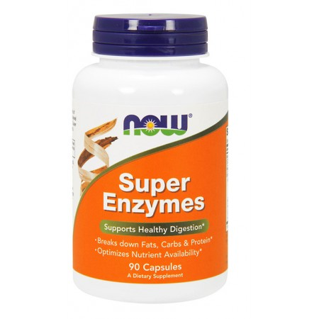 NOW FOODS Super Enzymes 90kap
