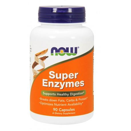 NOW FOODS Super Enzymes 90kap