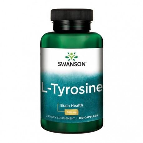 SWANSON L-Tyrosine (L-Tyrozyna) 100kap