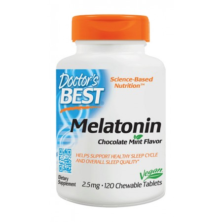 DOCTOR'S BEST Melatonin 2,5mg 120tab