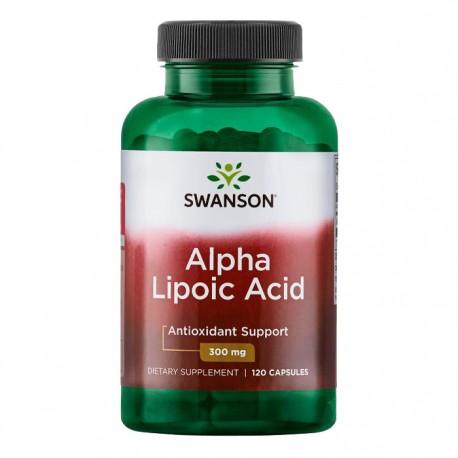 SWANSON Alpha Lipoic Acid 300mg 120kap Kwas Alfa Liponowy