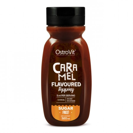 OSTROVIT Caramel Flavoured Topping 320ml