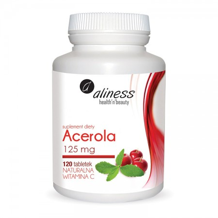 ALINESS Acerola 125mg 120tab