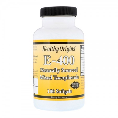 HEALTHY ORIGINS E-400 (Witamina E) 180kap
