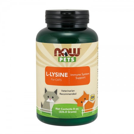 NOW PETS L-Lysine for Cats 226gram