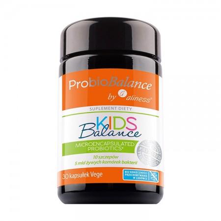 ALINESS ProbioBALANCE, KIDS Balance 5 mld. 30 vege kap
