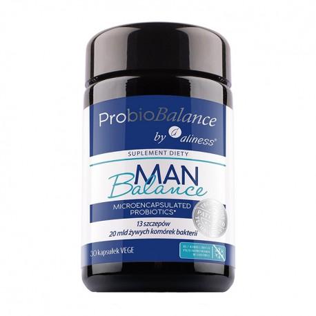 ALINESS ProbioBALANCE, Man Balance 20 mld. x 30 vege kap