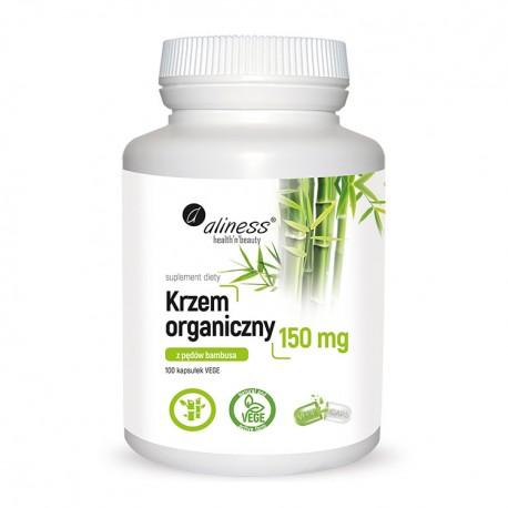 ALINESS  Krzem organiczny 150 mg 100 kap. VEGE