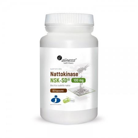 ALINESS Nattokinase NSK-SD® 100mg 60kap Vege