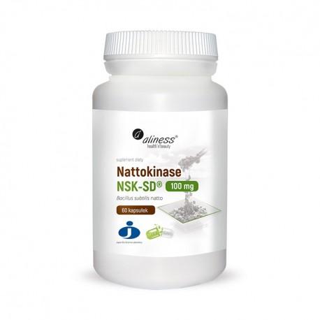 ALINESS Nattokinase NSK-SD® 100 mg 60kap Vege