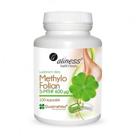 ALINESS Methylo Folian 5-mthf 600 μg 100 kaps VEGE