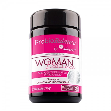 ALINESS ProbioBALANCE Woman Balance 20mld 30kap vege
