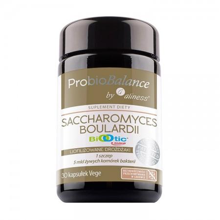 ALINESS  ProbioBALANCE Saccharomyces Boualardii 5mld 250mg 30kap Vege