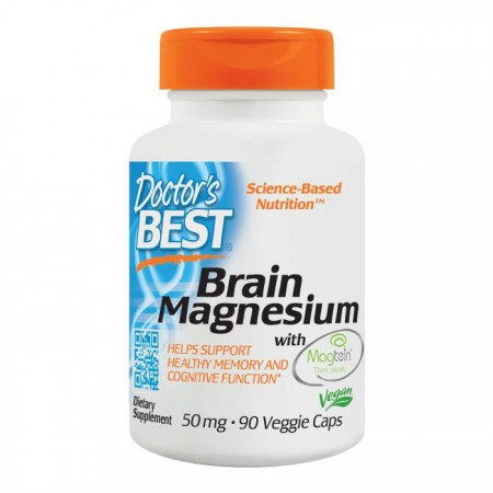 DOCTOR'S BEST Brain Magnesium 75mg 90kap wege