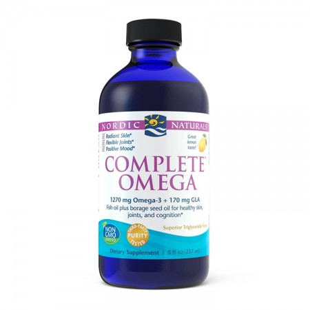 NORDIC NATURALS Complete Omega 237ml Cytryna