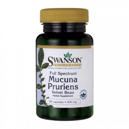 SWANSON Mucuna Pruriens 400mg 60kap