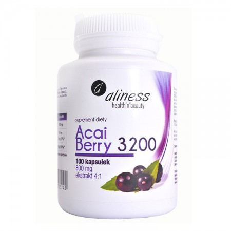 ALINESS Acai Berry 3200 800 mg 100kap