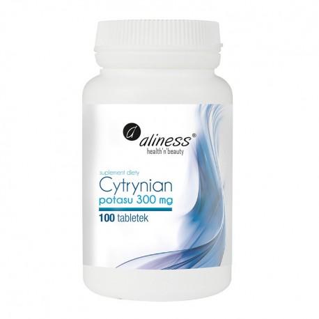 ALINESS Cytrynian Potasu 100mg 100tab wege